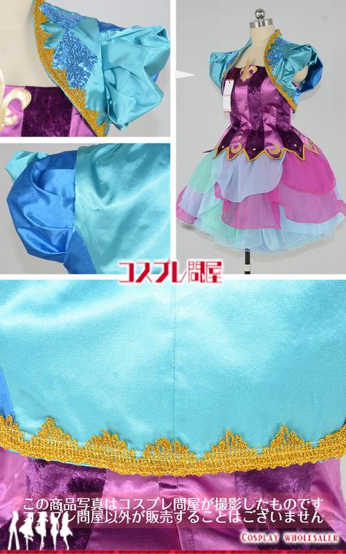 東京ディズニーランド(TDL) レッツ・パーティグラ! オープニング女性ダンサー 髪飾り付き レプリカ衣装 フルオーダー [3295] 🅿