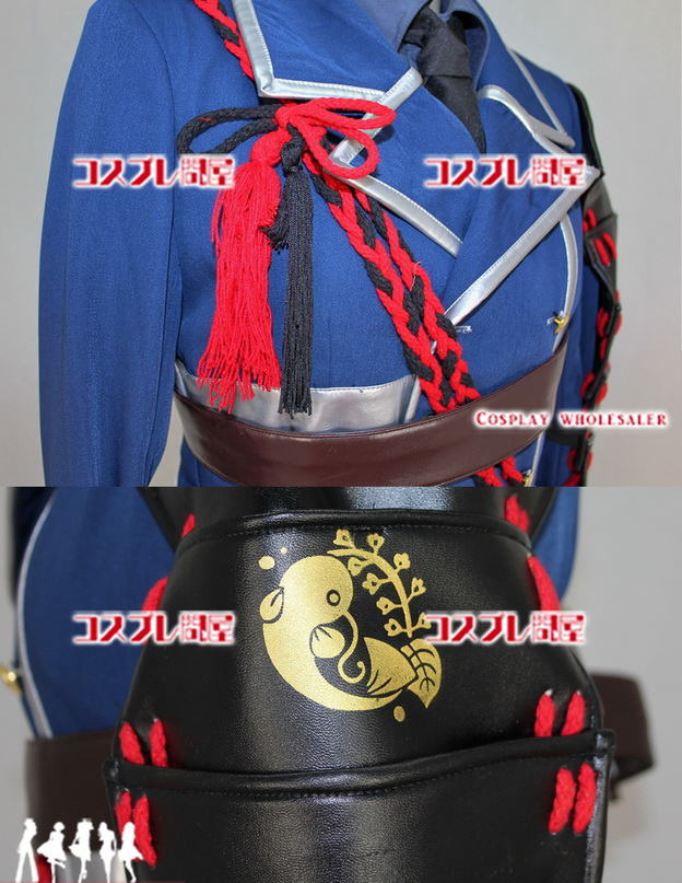 刀剣乱舞(とうらぶ) 鯰尾藤四郎(なまずおとうしろう) 肩当付き コスプレ衣装 フルオーダー [0837]