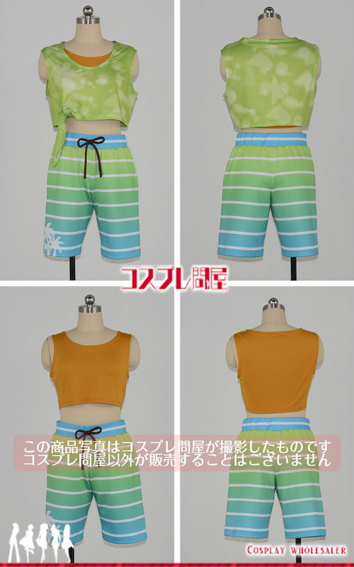 THE IDOLM@STER SideM(アイマス) 舞田類 WORLD TRE@SURE in HAWAII コスプレ衣装 フルオーダー [3694]