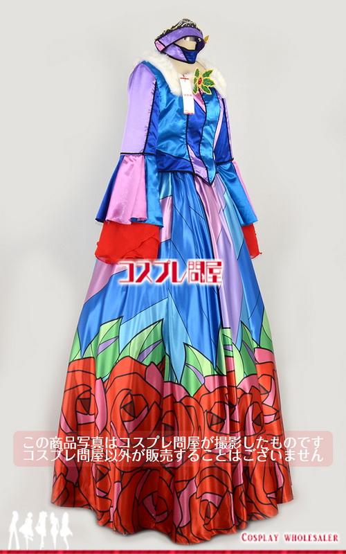 東京ディズニーランド(TDL) ディズニー・クリスマス・ストーリーズ 美女と野獣 女性ダンサー 帽子・パニエ付き 豪華版 レプリカ衣装 フルオーダー [1786-2] 🅿