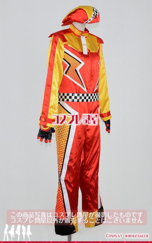東京ディズニーシー(TDS) ライトニング・マックィーン・ヴィクトリーラップ ダンサー つなぎ レプリカ衣装 フルオーダー [2683]