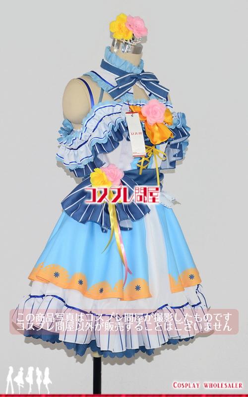 ラブライブ! スクールアイドルフェスティバル 田中さち子 SSR パニエ付き コスプレ衣装 フルオーダー [3697]