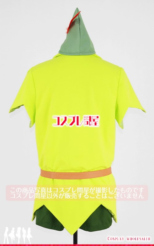 東京ディズニーランド(TDL) ピーター・パン グリーティング タイツ付き レプリカ衣装 フルオーダー [3914]