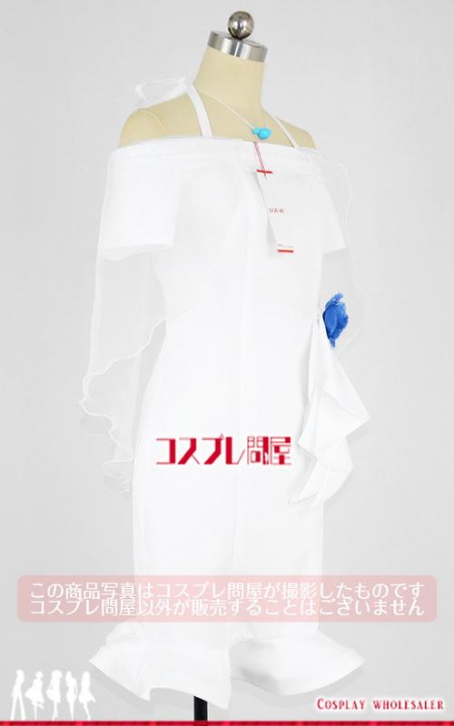 被虐のノエル ジリアン・リットナー 白ドレス 首飾り付き コスプレ衣装 フルオーダー [4113]
