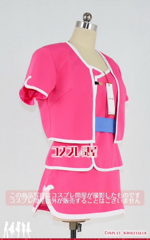 カイザーナックル リーファ 2Pカラー 髪飾り&手袋付き コスプレ衣装 フルオーダー [4376]