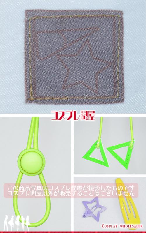 プロジェクトセカイ(プロセカ) 白石杏 パーカー&髪飾りのみ コスプレ衣装 フルオーダー [4423]