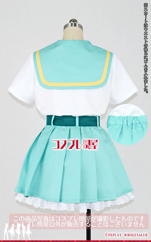 トロピカル~ジュ!プリキュア 涼村さんご 制服 コスプレ衣装 フルオーダー [D4690]